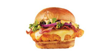 As the weather cools down, heat up at Wendy's with their new Spicy Sriracha Chicken Sandwich.