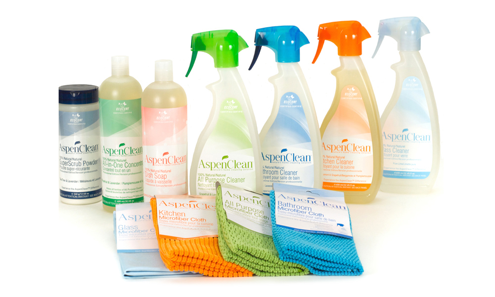 AspenClean Natural Cleaning Products