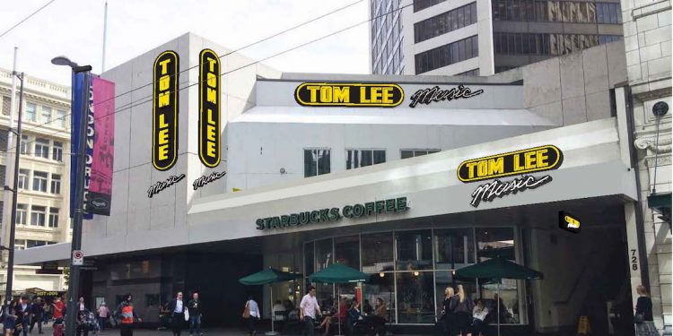 Tom Lee Music Moving to West Georgia and Granville in Downtown Vancouver