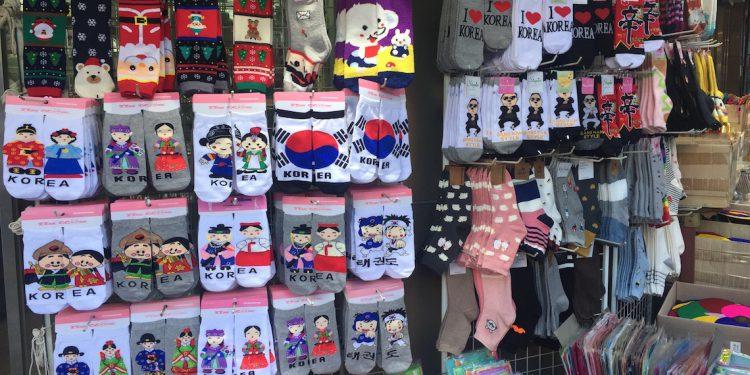 seoul korea souveniers