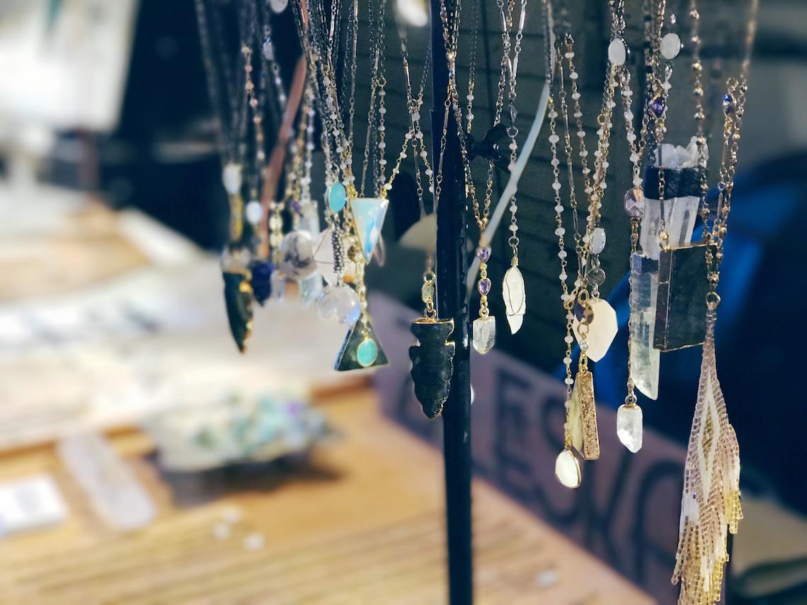 Eastside Flea Zaleska Jewelry