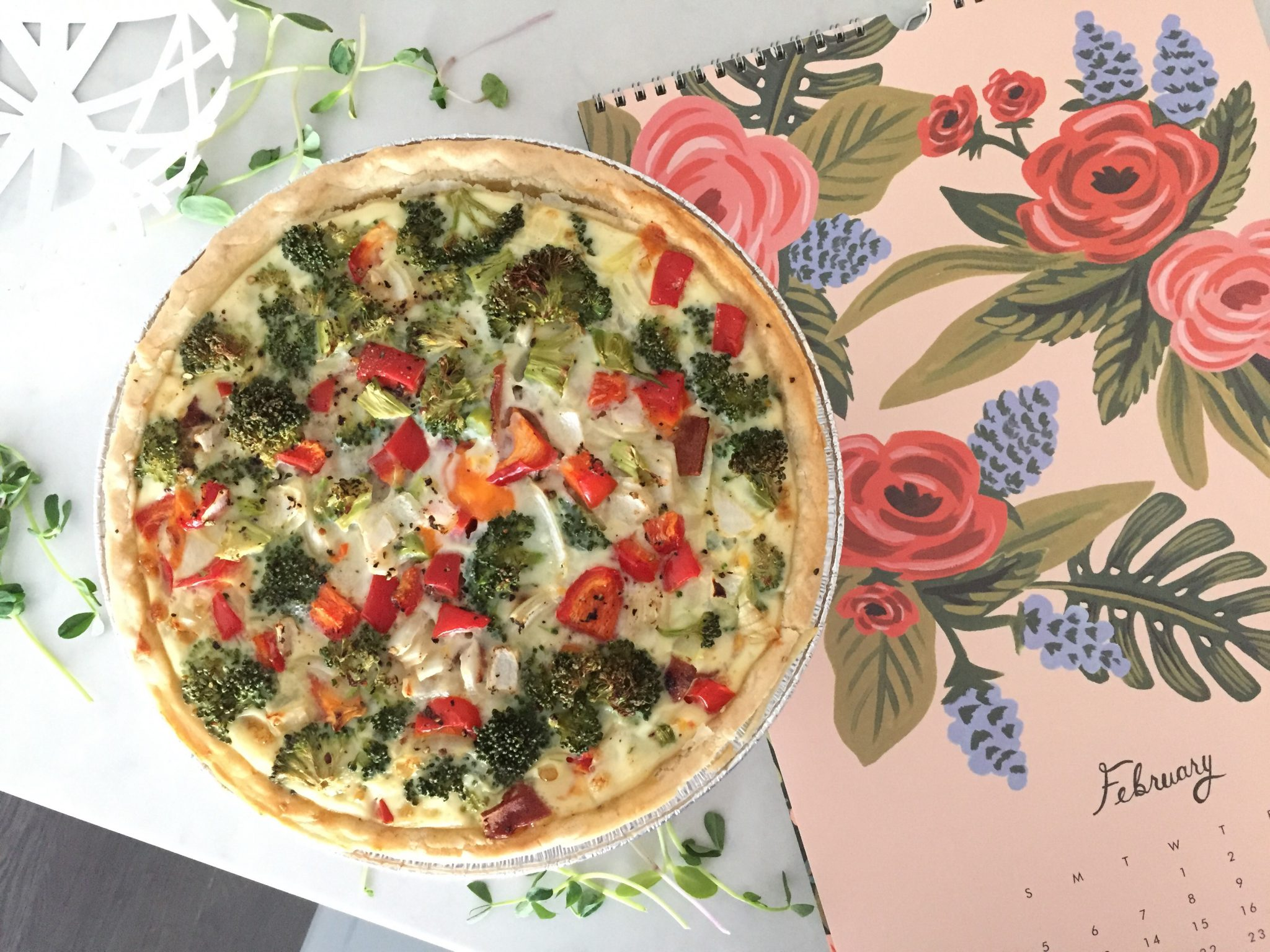 Quiche Recipe with Lots of Veggies