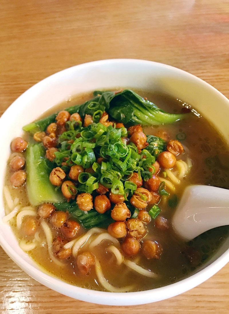 Chickpea Ramen at Momofuku in Las Vegas