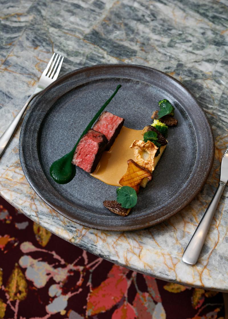 Wagyu Beef Botanist Restaurant Fairmont Pacific Rim