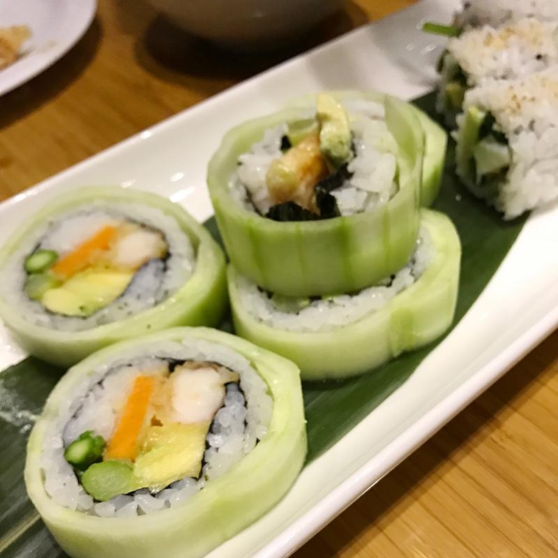 Tojo's Sushi Northern Lights Roll