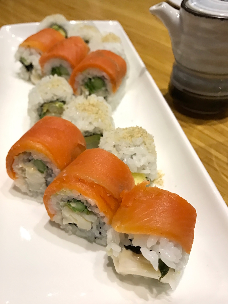Great Pacific Roll and Tojo Roll