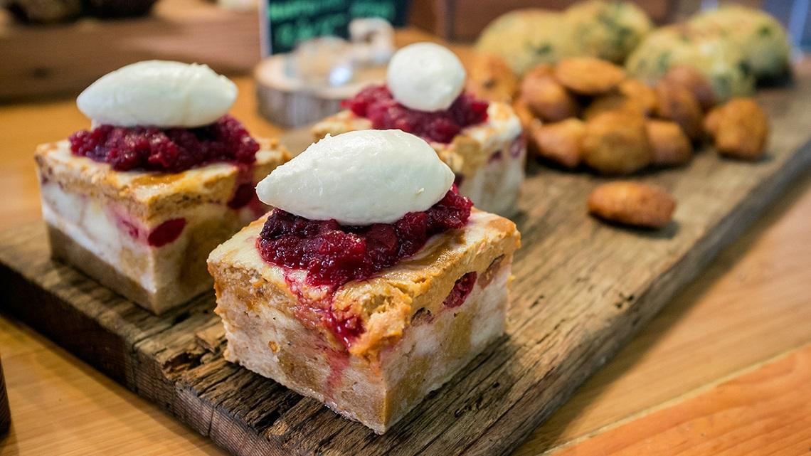 Railtown Cafe Cinnamon Bun Bread Pudding