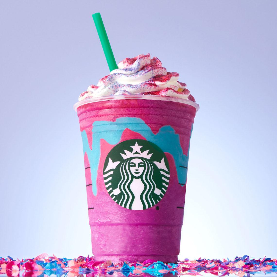 starbucks canada Unicorn Frappuccino