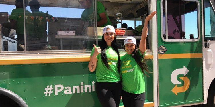The Fun and Energetic Subway Panini Express Team