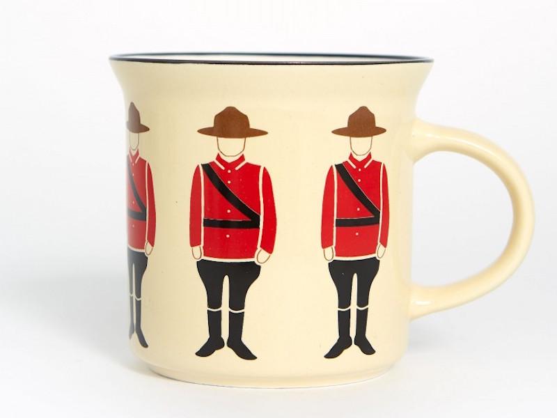 Mountie Mug