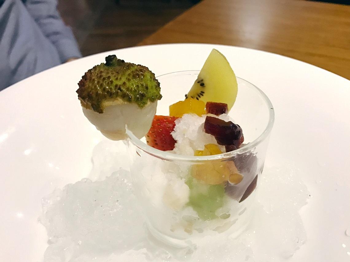 Tojo's Lychee Dessert
