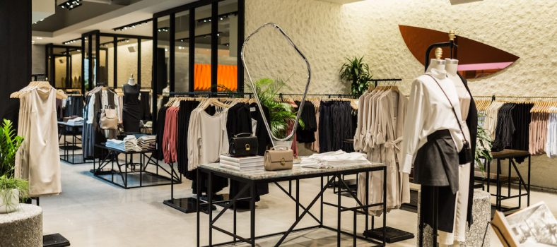 The Aritzia Babaton Boutique at Pacific Centre will have a similar aesthetic to its Yorkdale Mall Location.