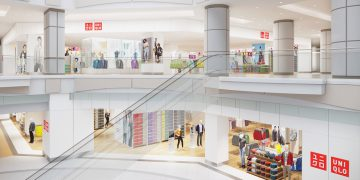 UNIQLO Vancouver Store Rendering