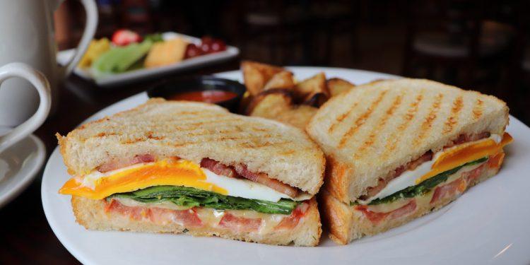 Brambles Bistro Breakfast BLT Sandwich