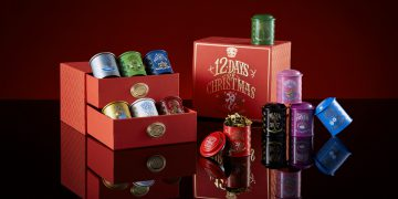 TWG 12 Days of Christmas Gift Box