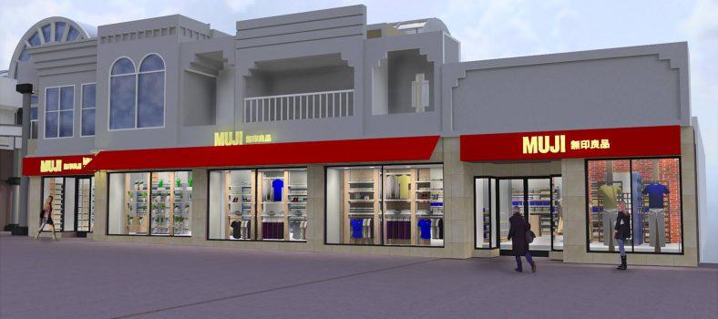 Muji Robson Street Opening