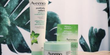 Aveeno In Shower Facial and Overnight Mask