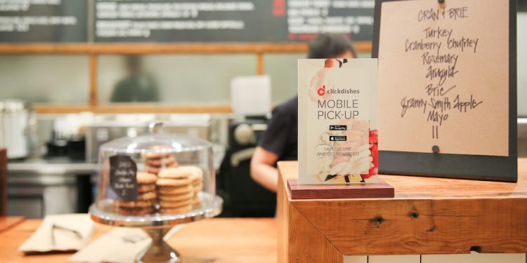 Click Dishes Mobile Order and Pay Pacific Centre