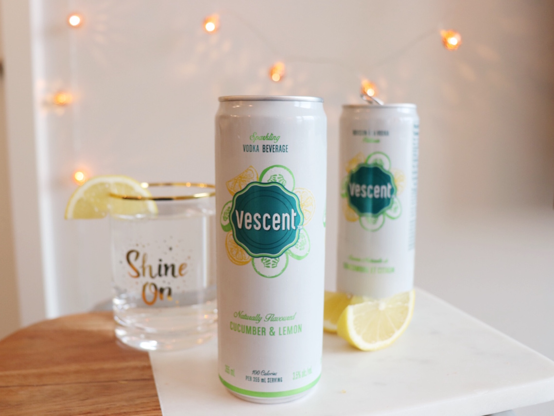 vescent alcohol cooler beverage in canada