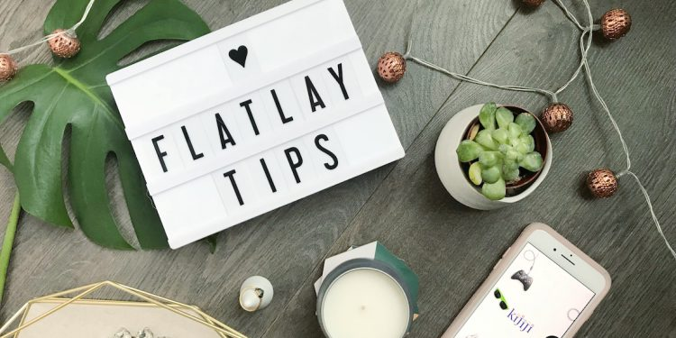 flat lay photography tips