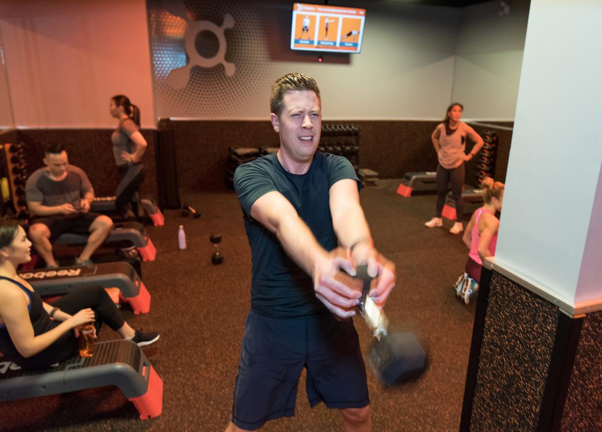 orange theory fitness free weights
