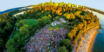 fresh air cinema stanley park second beach 2018