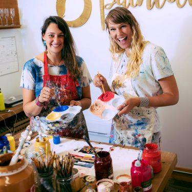 Paintillio Founders: Jess Devenport and Lyssa Kayra
