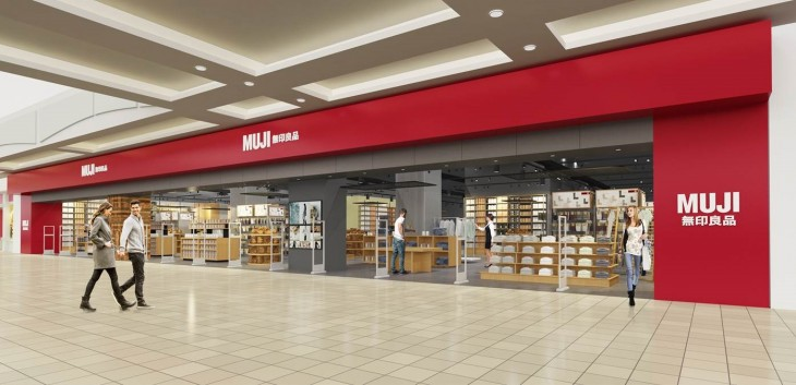 Muji reopens at Metropolis at Metrotown
