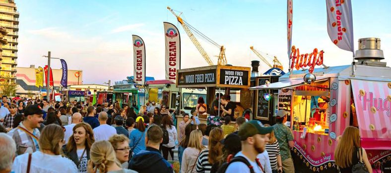 shipyards Friday night market in lower lonsdale