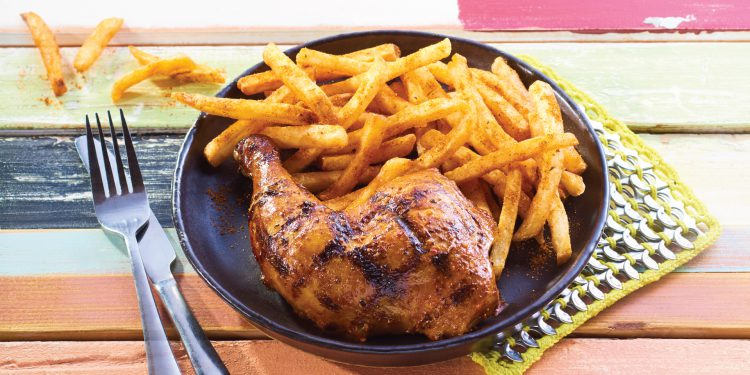Nando's Chicken and Peri Peri Fries