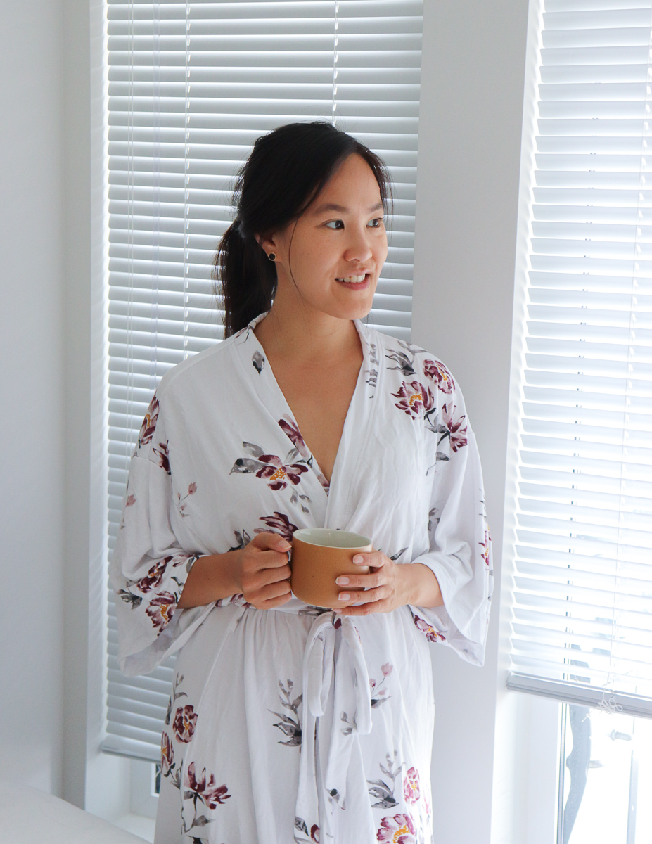 Gentle Fawn Privilege Clothing White Floral Robe Robe