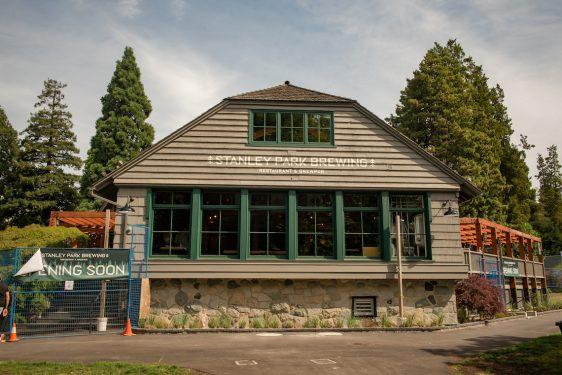 stanley park brewing restaurant