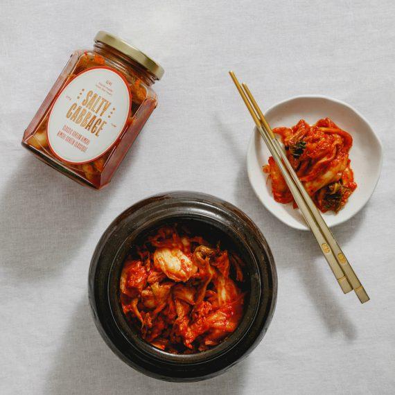 salty cabbage kimchi