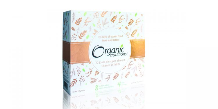 Organic Traditions 12 Days of Superfood Teas and Lattes