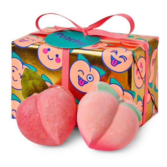 LUSH Peachy Gift Set
