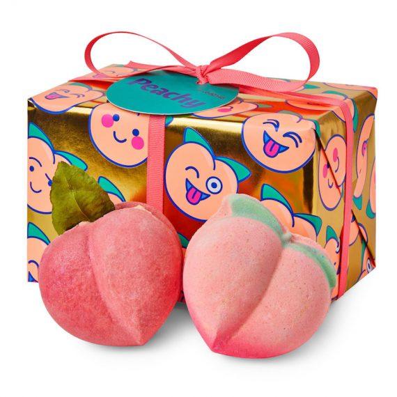 LUSH Peachy Gift Set