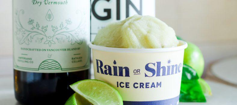 rain or shine ice cream with vermouth