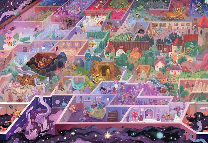 The Mystic Maze Magic Puzzle Company