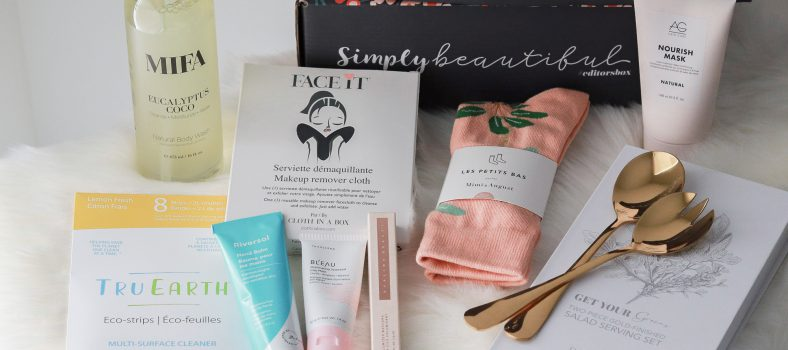 Simply Beautiful Winter 2021 Subscription Box