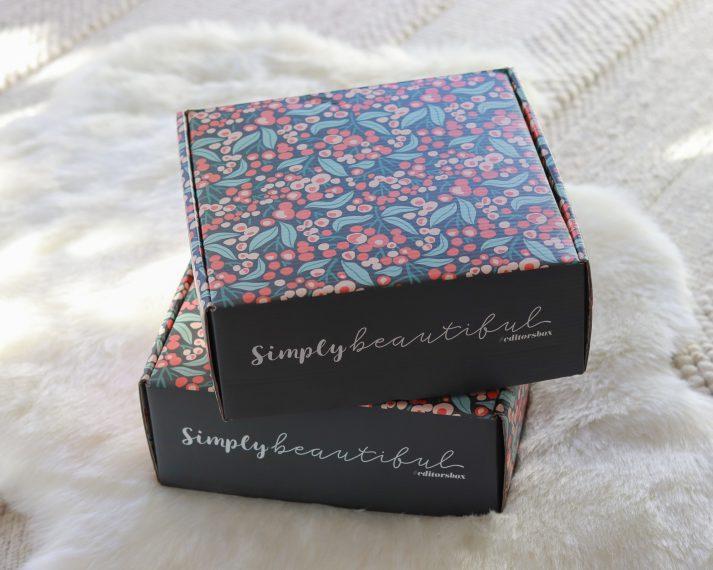 Simply Beautiful Winter 2021 Box
