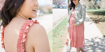 Pink Dress from Carry Maternity