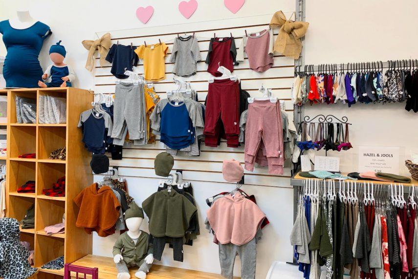 Made in Canada Kids Clothing at Hazel & Jools Maternity Wear Shop in Vancouver