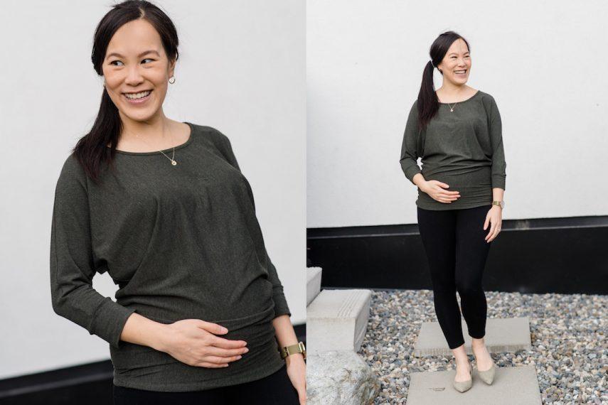 Hazel & Jools Green Maternity Top