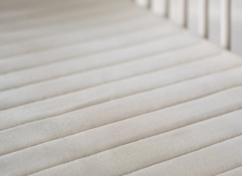 Up close view of Obasan Crib Mattress