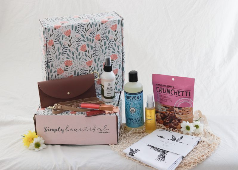 Simply Beautiful Box with Product Spoilers