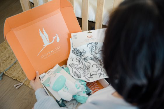 Stork Post Canadian Baby Subscription Box
