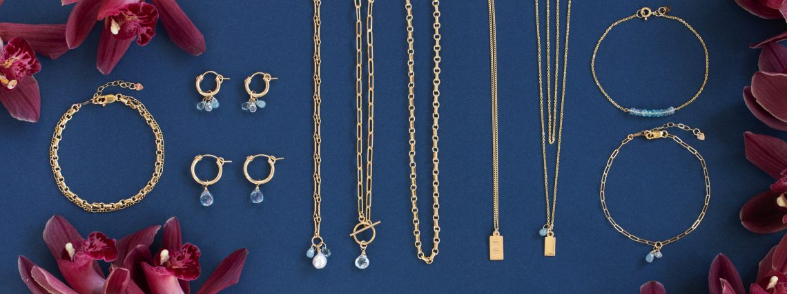 """Pieces from the Blue Ruby """"Blue Skies"""" Mother's Day Jewelry Collection Benefitting Cause We Care Foundation"""