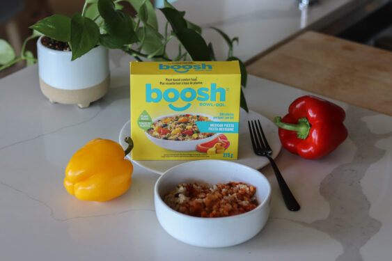 Boosh Food Mexican Fiesta Brown Rice and Quinoa Bowl