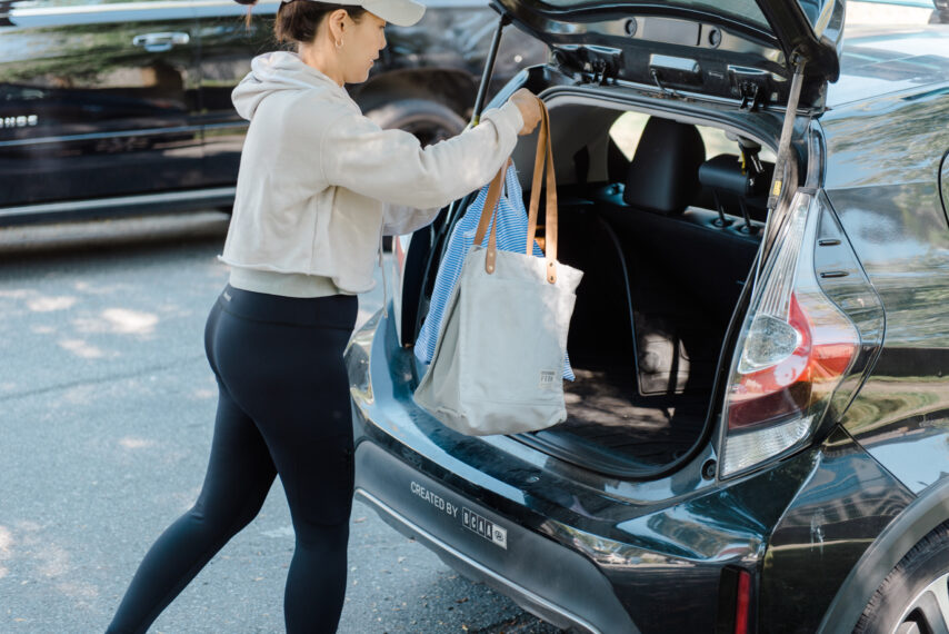 Evo Toyota Prius Trunk Space